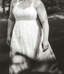 Robe de mariée, taille plus