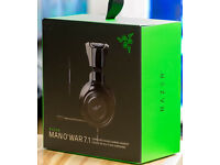 Razer Man O'War 7.1 Wired Headset Brand new