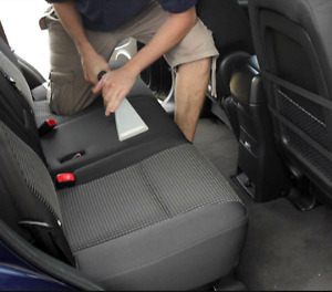 Car interior detailers. Mobile service.