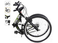 Stowabike folding dual suspension bike (almost new)