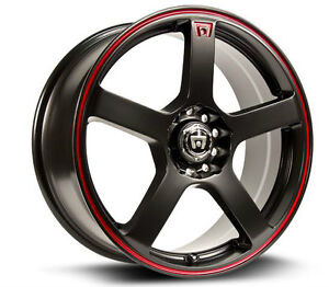 Roues (Mags) RTX Motegi Racing MR116 16 pouces 4-108/114.3