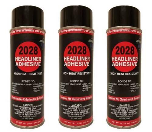 Package of 3 V&S #2028 Headliner Spray Adhesive