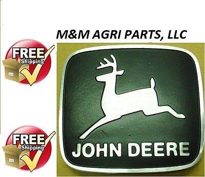 Front Hood Emblem John Deere 2040 2240 2440 2630 2640 2840 3030 3130 Tractor