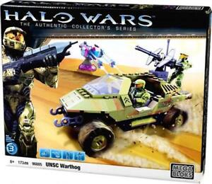 MEGA BLOKS HALO UNSC TROOPS TRANSPORT WARTHOG 96866 96805