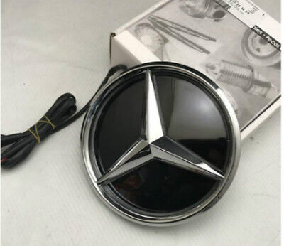 MB-LED7 LED MERCEDES BENZ DISTRONIC GRILLE STAR EMBLEM Illuminated C CLA GLAK E
