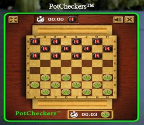 PotCheckers® >>> a playable 420 app game is FOR SALE