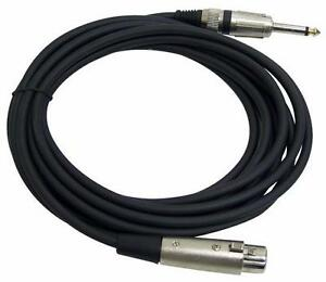 MICROPHONE CABLES, XLR CABLES, SPEAKON CONNECTOR CABLES, AUDIO LINK XLR TO RCA CABLES