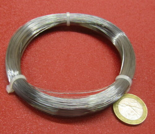 """C1080 Carbon Steel Music Wire, Phospate Coated, .006"""" Dia. x 1/4 lb Coil"""
