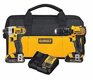 Dewalt (DCK280C2) 20V MAX Lithium Ion Compact Drill/Driver / Impact Driver Combo Kit (1.5 Ah) BRAND NEW $239.99
