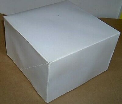 Lot 25 8 X 8 X 5 Bakery Cake Wedding Square Cookie Box Boxes New