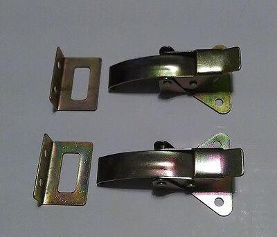 Arcade / pinball console panel latches Set of 2