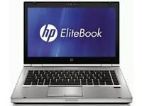 TOP RANGE HP ELITEBOOK LAPTOP- i5 2.5GHZ- 12GB RAM- 500GB HARD DRIVE- HD WEBCAM-WINDOWS 10 PRO