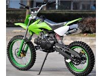 BRAND NEW 125CC DIRT BIKE