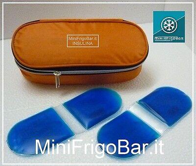 Mini Frigo per INSULINA portatile in Auto da Viaggio Custodia NO elettrico 12V