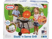 Little tikes sizzle n serve grill kids boys girls BBQ