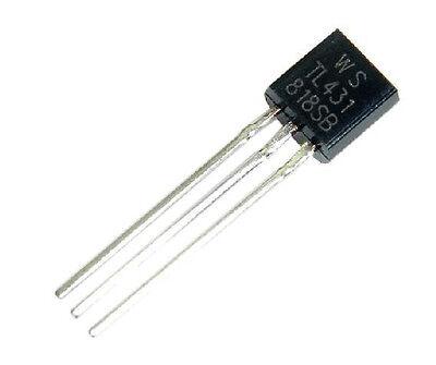 30pcs Tl431acl Tl431 Precision Shunt Regulator To-92 New Ca