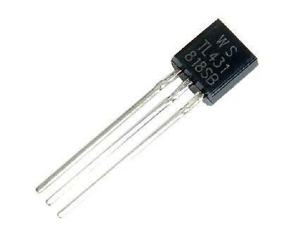 50pcs Tl431acl Tl431 Precision Shunt Regulator To-92 New