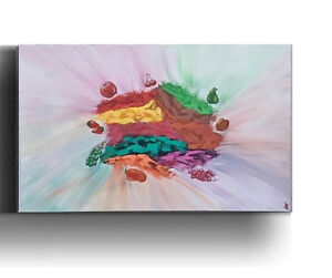 Large Kitchen Painting Acrylic Painting Canvas Wall Art Decor