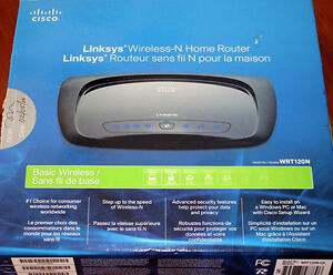 Brand New - Linksys WRT120N - Wireless Home Router