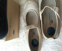 Natural Sport shoes with Dr.Scholl's - 8W Shoes