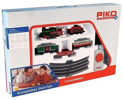 PIKO 57080 Hobby Christmas Steam Starter Train Set HO Scale (Hornby Size Track)