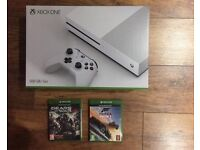 Xbox One S 500GB Console + 2 Games