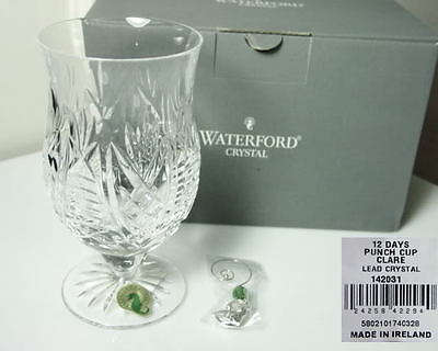 Waterford Clare 12 Days Of Christmas Punch Cup  Ireland  New In Box