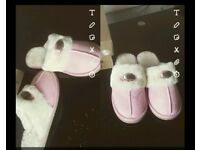 Fluffy Ugg slippers