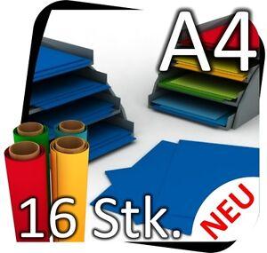 16x-DIN-A4-Manualidades-Lamina-para-muebles-Adhesiva-P-EJ-azul-azur