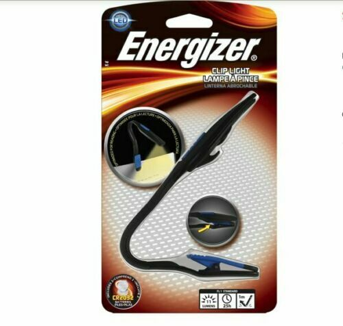 Energizer Clip Book Light - FNL2BU1BP