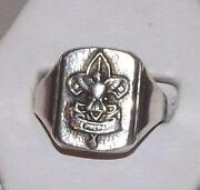 Boy Scout Ring