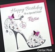 Personalised Sister Birthday Card