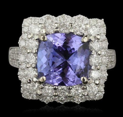 Sapphire And Diamond Ring Ebay