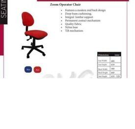 Operators office chair