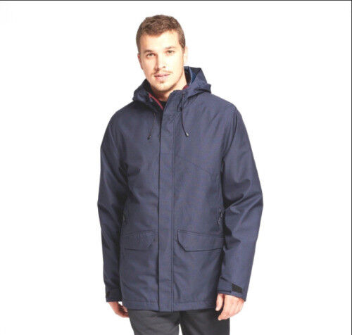 Champion C9 Men's Navy 3-in-1 Systems Hooded Jacket NWT Size SMALL Clothing, Shoes & Accessories
