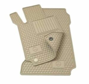 Genuine Mercedes E Class Rubber Floor Mats W