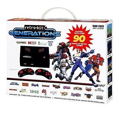 Retro-Bit Generations Plug and Play consola + 2 gamepads + 90 Retro-clásico...