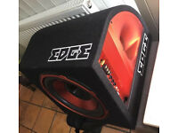 "Edge Audio EDB12A 12"" 900 watts Active Bass Box Sub Subwoofer Enclosure"