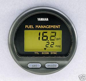 NEW YAMAHA DIGITAL FUEL MANAGEMENT GAUGE - 6y5-8350f-01-00