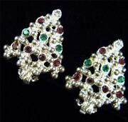Christmas Clip Earrings