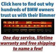 BMW Radio Repair