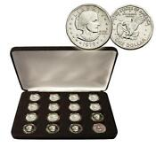 Susan B Anthony Dollar Set