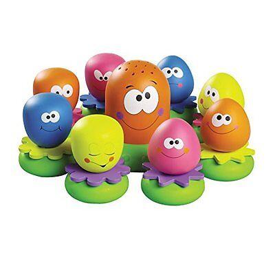 TOMY Wasserspiel Kinder Okto Plantschis Baby Kleinkindspielzeug Badewannenspiel