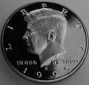 1995 s Proof Kennedy Half Dollar