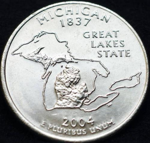 Michigan State Quarter Roll Ebay