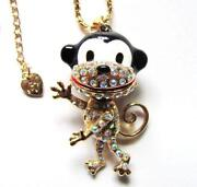 Betsey Johnson Monkey