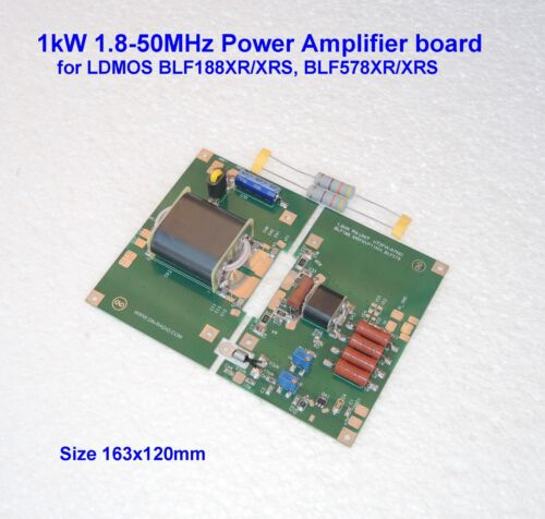 1kW 1.8-30MHz 700W 50MHz HF POWER AMPLIFIER BOARD for LDMOS BLF188XR/XRS BLF188