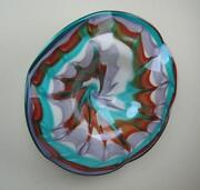 Hand Blown Glass Plate