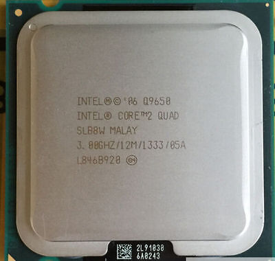 Intel Q9650 Core 2 Quad - 3 Ghz Quad Core L2=12MB Socket 775 1333FSB,very fresh! segunda mano  Embacar hacia Argentina