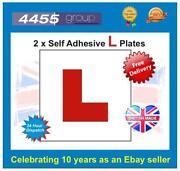 Self Adhesive L Plates